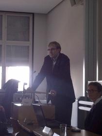Baubürgermeister Martin Haag